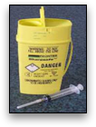 BMS offers a sharps removal service