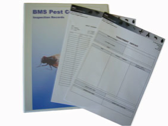 Written pest control records are provided after each visit